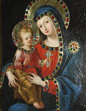 Virgen Mary, Mother of God  dans immagini sacre maria